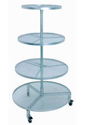 TDS-G Four Tier Galvanized Display - ifloral.com