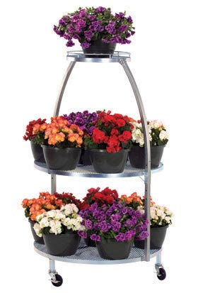 TLD Three Level Round Display - ifloral.com