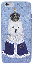 Royal Westie iPhone Case