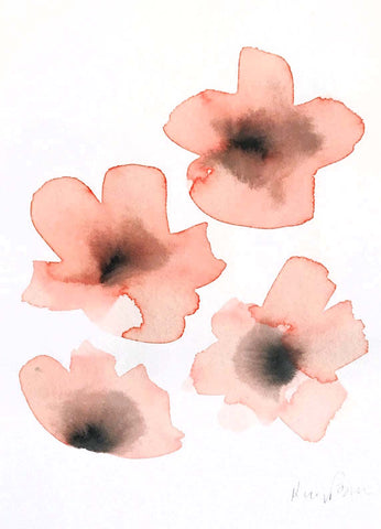 Watercolor Blossom I