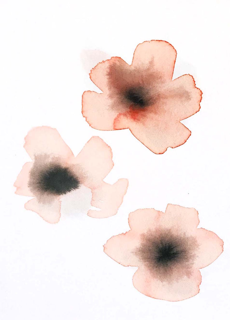 Watercolor Blossom V