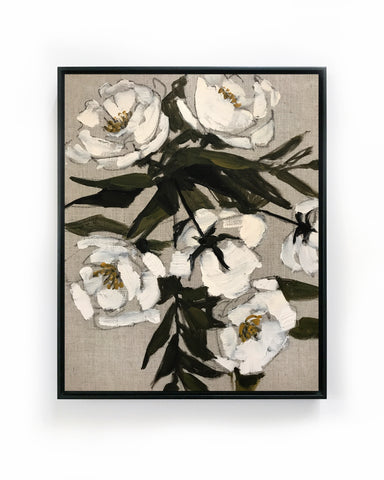 Floral on Linen XIII