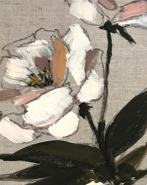 Floral on Linen XI