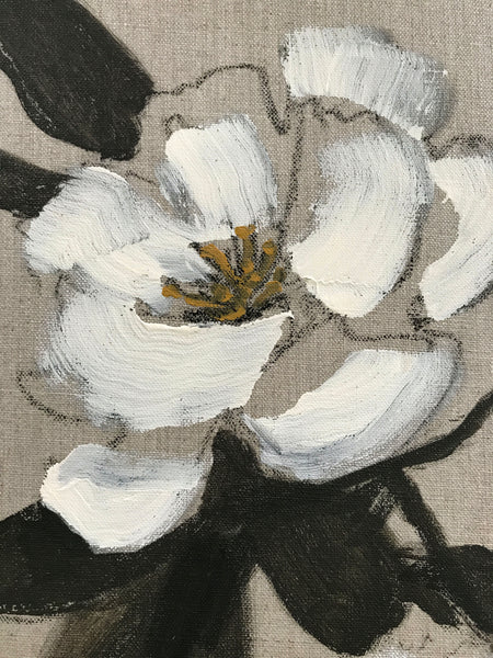 Floral on Linen III