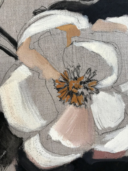 Floral on Linen II