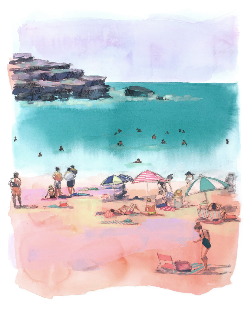 Print of Bondi Beach