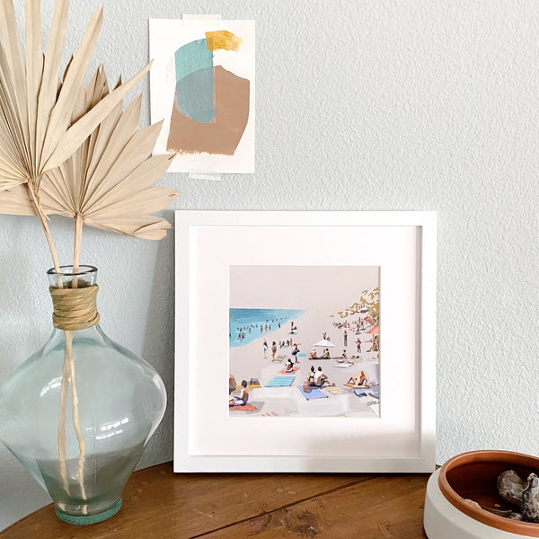 Carefree Coast Print
