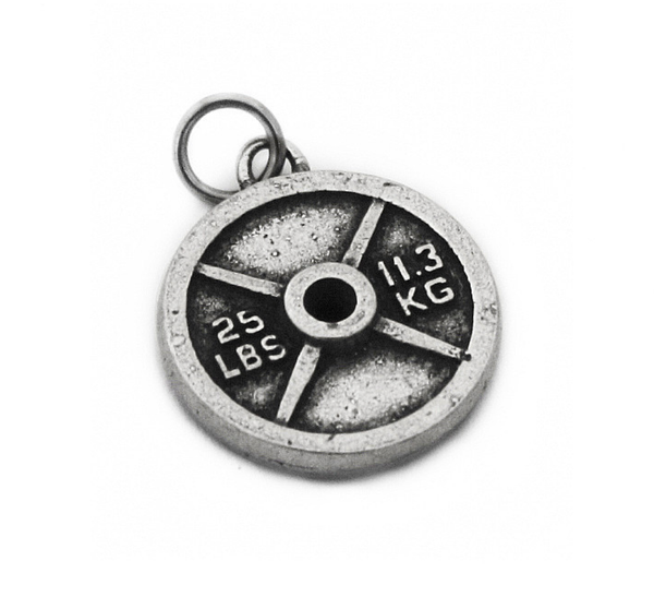 Weight Plate Charm (25lb/11.3kg)