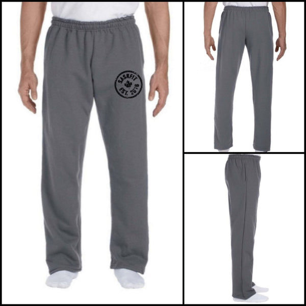 Unisex Open Bottom Sweat Pant