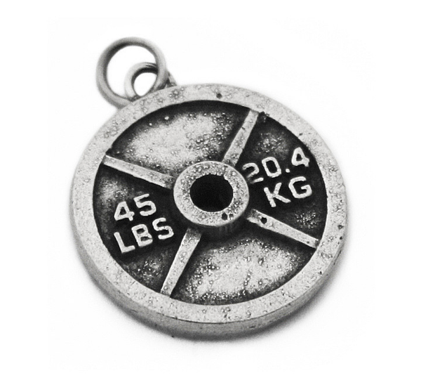 Weight Plate Charm (45lb/20.4kg)