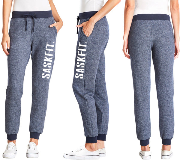 Ladies Blue Denim Jogger