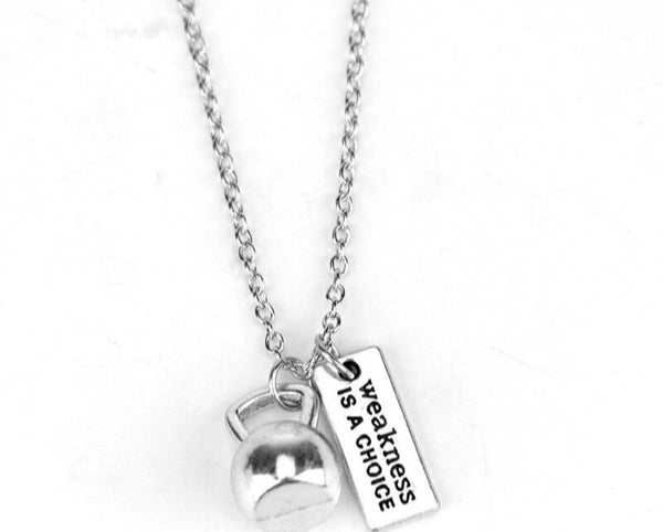 Motivation Quote Necklace