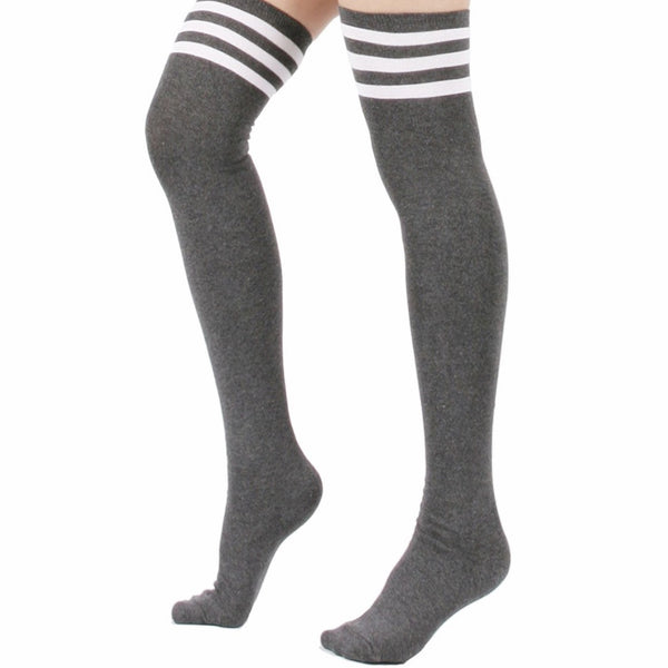 Triple Stripe Socks