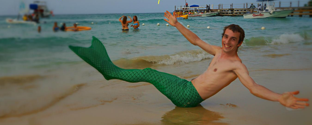 Mermaid jamaica merman