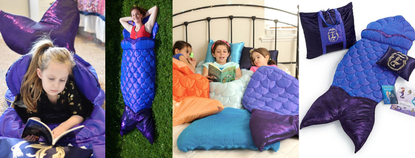 Enchantails Mermaid tail blanket sleeping bag