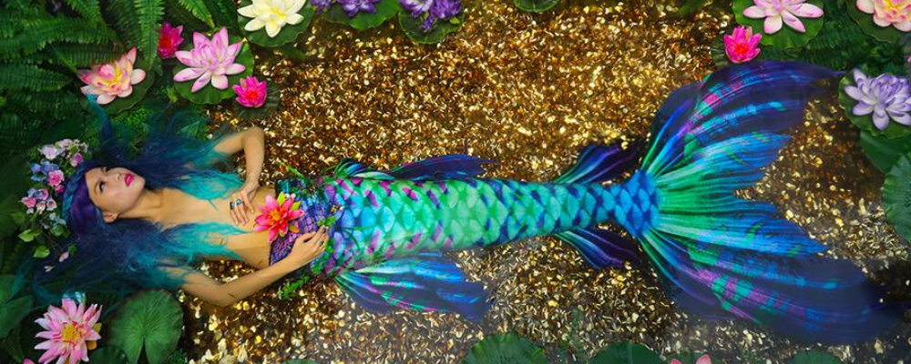 Aquarius Mermaid tail swimtails