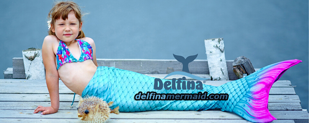 Delfina Mermaid tail for kids