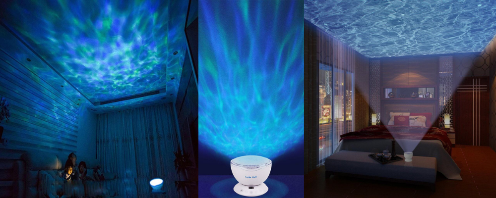 water projector ceiling ocean waves decoration lights