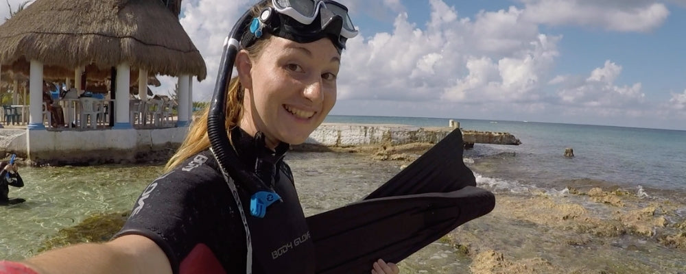 Padi freediving course mexico cozumel