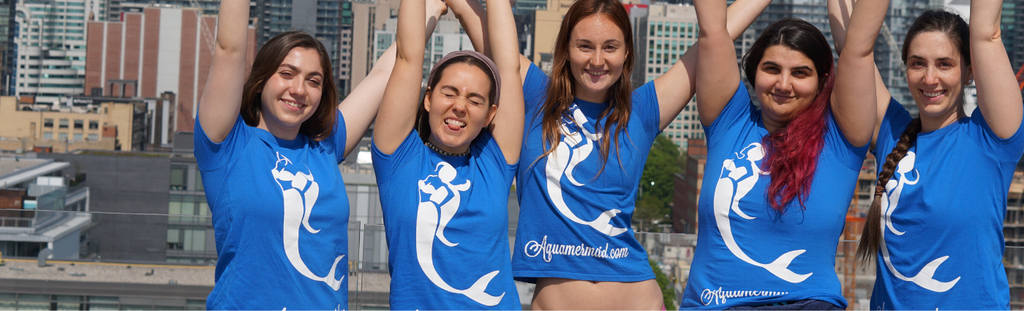 Mermaid t-shirt Aquamermaid ambassador team
