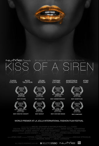 Kiss of a Siren, 2017. Directed by Miguel Gauthier and Viktorija Pashuta
