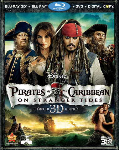 Pirates of the Caribbean: On Stranger Tides, 2011. Directed by  Rob Marshall