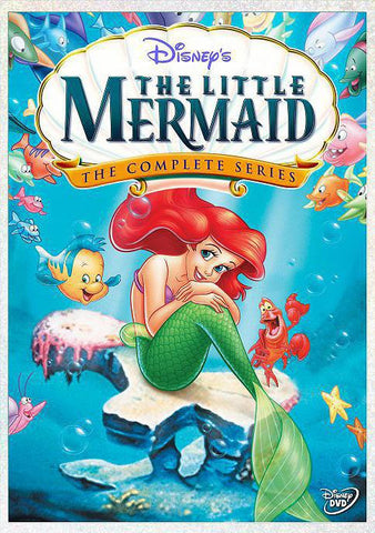 The Little Mermaid, 1992-1994. Created by Jamie Mitchell and Mircea Mantta
