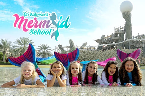mermaid yas waterworld