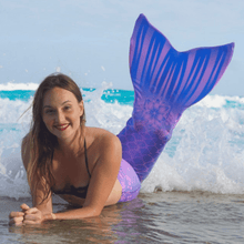 Load image into Gallery viewer, purple mermaid tail for sale