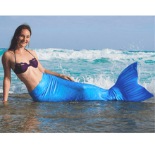 Load image into Gallery viewer, blue mermaid tails for adults