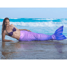 Load image into Gallery viewer, purple mermaid tails for adults