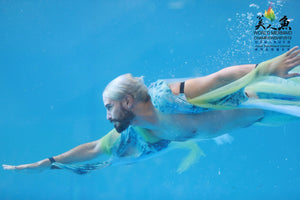 merman performer at World Mermaid Championship