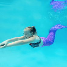 Load image into Gallery viewer, purple mermaid tails for swimming