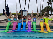 Load image into Gallery viewer, Pembroke Pines (British Swim School) Kids Mermaid Party