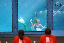 Load image into Gallery viewer, mermaid performer at World Mermaid Championship