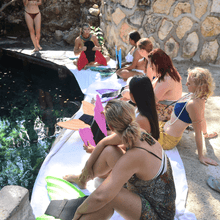 Load image into Gallery viewer, Tulum Mermaid Excursion
