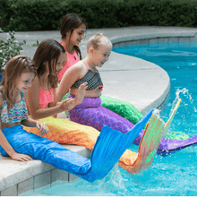 Load image into Gallery viewer, aquamermaid tails for kids