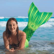 Load image into Gallery viewer, green mermaid tail for adults