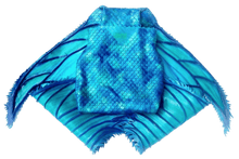 Load image into Gallery viewer, Foldable mermaid tail fluke, Small size, light