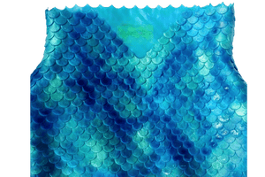 V sahpe waist, mermaid scales, dragon scales