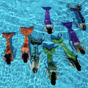 mermaid swimming meetup in Austin, Texas