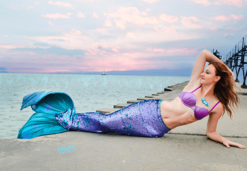 sequin mermaid tail