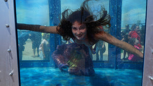 mermaid performer at Mermaid Megafest