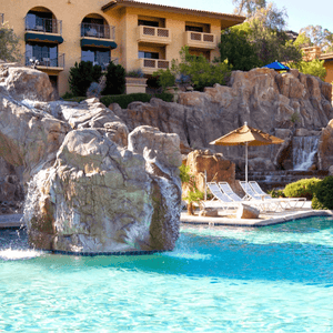 AquaMermaid Pointe Hilton Tapatio Cliffs Resort outdoor pool Phoenix, AZ