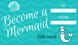 Mermaid class gift card