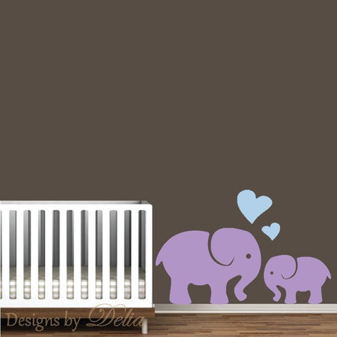 Cute Elephant Decal for Children's Room