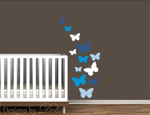 Butterflies Wall Decal for Nursery