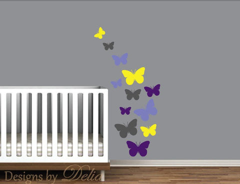 Butterfly Decals for Baby Room