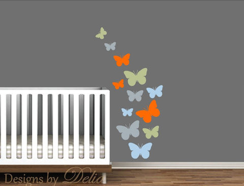 Baby Girl or Boy Vinyl Decals for Nursery