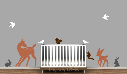 Nursery Forest Wall Mural